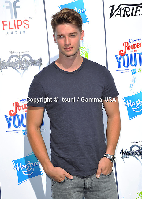 Patrick Schwarzenegger at the Variety's 7th Annual Power of Youth Event on the Universal Studio Lot in Los Angeles.