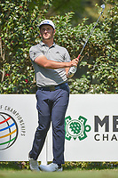 Jon Rahm (ESP) watches his tee shot on 17 during the preview of the World Golf Championships, Mexico, Club De Golf Chapultepec, Mexico City, Mexico. 2/28/2018.<br /> Picture: Golffile | Ken Murray<br /> <br /> <br /> All photo usage must carry mandatory copyright credit (&copy; Golffile | Ken Murray)