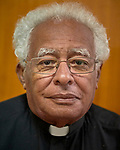 Bishop Macram Max Gassis, the emeritus bishop of El Obeid, Sudan. Gassis has long been a defender of the people of the Nuba Mountains.