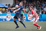 Hong Kong Football Club vs Stoke City during the Main tournament of the HKFC Citi Soccer Sevens on 22 May 2016 in the Hong Kong Footbal Club, Hong Kong, China. Photo by Li Man Yuen / Power Sport Images