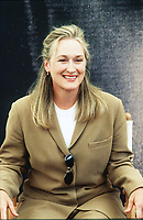 """Mary Louise """"Meryl"""" Streep è un'attrice statunitense. Riconosciuta unanimemente come una delle maggiori star di Hollywood; la Streep detiene il record di candidature ai Premi Oscar; 21 in totale. Lido 9 settembre 1999. Photo Leonardo Cendamo"""