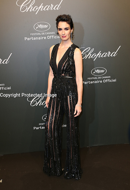 PAZ VEGA<br /> Chopard Space Party Photocall The 70th Cannes Film Festival<br /> CANNES FRANCE MAY 19