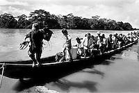 colombia1051 - FARC controlled territory. La Macarena, june 2001<br />