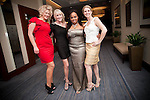 Joan Rivers stylist with the Houston Area Women's Center CEO Rebecca White, Gala Red Carpet Host Ayana Mack, with Lori Freese