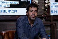 """São Paulo, SP, 30.10.2014 - """"SEXO, DROGAS E ROCK N ROLL"""" COLETIVA - O ator Bruno Mazzeo durante coletiva de lançamento da sua peça teatral """"Sexo, Drogas e Rock n Roll"""" no Teatro Net localizado dentro do Shopping Vila Olímpia na tarde dessa quinta - feira, 30. (Foto: Renato Mendes Brazil Photo Press)"""