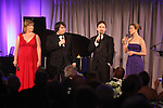 Tracy Lynn Olivera & Signature Theatre Cast Members.performing at the Signature Theatre Stephen Sondheim Award Gala honoring Patti Lupone at the Embassy of Italy in Washington D.C. on 4/16/2012.