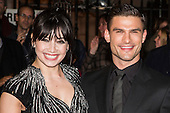 London, UK. 31 October 2016. Dancing partners from Strictly Come Dancing Daisy Lowe and Aljaz Skorjanec.  Red Carpet Arrivals at the Pride of Britain Awards.