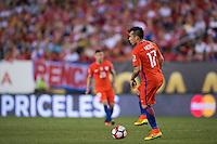 Action photo during the match Chile vs Panama, Corresponding to Group -D- America Cup Centenary 2016 at Lincoln Financial Field.<br /> <br /> Foto de accion durante el partido Chile vs Panama, Correspondiente al Grupo -D- de la Copa America Centenario 2016 en el  Lincoln Financial Field, en la foto: Gary Medel de Chile<br /> <br /> <br /> 14/06/2016/MEXSPORT/Osvaldo Aguilar.