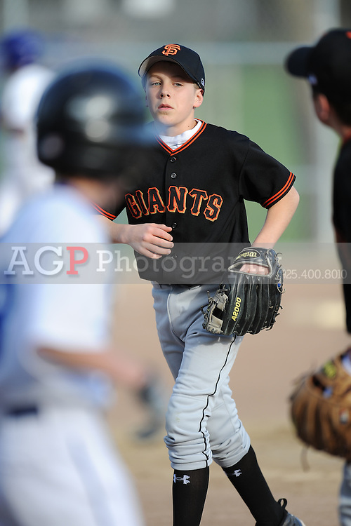 The Major Giants of Pleasanton National Little League  March 17, 2009.