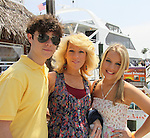 One Life To Live Eddie and Kristen Alderson with mom Kathy at the Cruisin' & Schmoozin' with the Stars on the Marco Island Princess sightseeing tour of beautiful Marco Island, watching the dolphins, autographs, photos, auctions & a buffet luncheon on May 15 Marco Island, Florida - SWFL Soapfest Charity Weekend May 14 & !5, 2011 benefitting several children's charities including the Eimerman Center providing educational & outreach services for children for autism. see www.autismspeaks.org. (Photo by Sue Coflin/Max Photos)