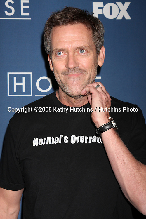 """Hugh Laurie arriving at the 100th Episode Party for """"House"""" at STK Resturant in Los Angeles, CA on .January 21, 2009.©2008 Kathy Hutchins / Hutchins Photo..                ."""