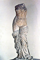 Greek Art:  Aphrodite of Sinvessa, in Roman Campania.  Greek original.  National Museum, Naples.