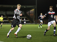 Jack Smith in the St Mirren v Dundee Clydesdale Bank Scottish Premier League Under 20 match played at St Mirren Park, Paisley on 14.1.13.