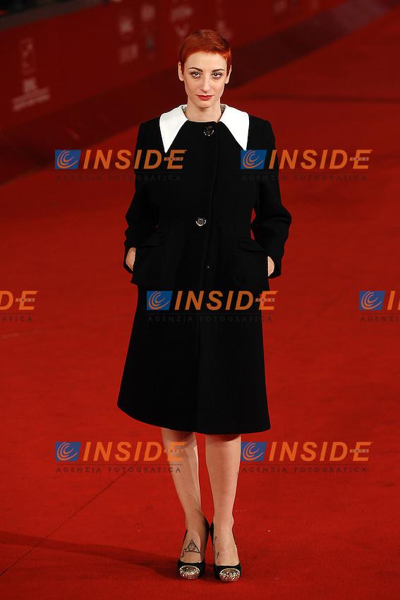Francesca INAUDI.Roma 4/11/2011 Auditorium.Festival Internazionale del Film di Roma.Award ceremony Red Carpet.Foto Andrea Staccioli Insidefoto