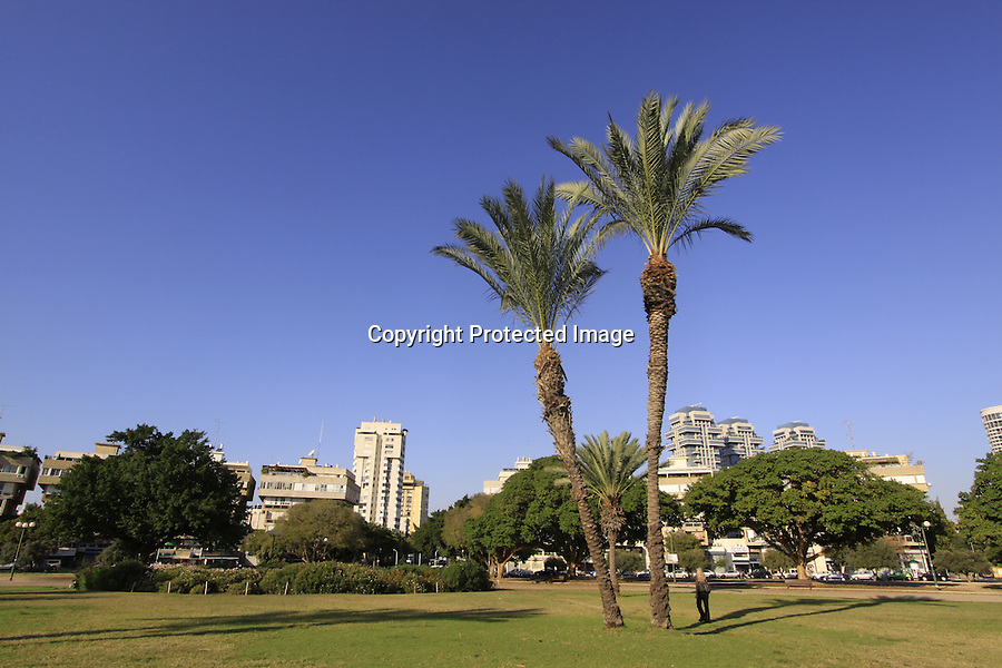 Israel, Hamedina Square in Tel Aviv