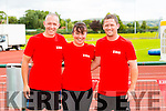 l-r William Walsh, Siobhan McCrohan and Mike Kelleher. at   the Hercoi Leán Island Warrior Challenge at An Riocht AC on Saturday