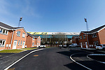 A housing development next to  Boundary Park, also called  Boundary Park. Oldham v Portsmouth League 1