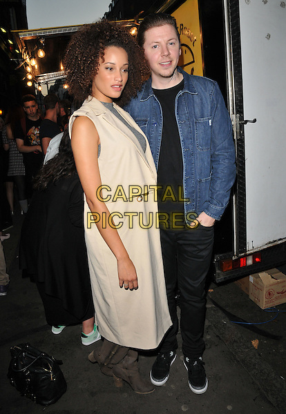 guest &amp; Professor Green ( Stephen Paul Manderson ) attend the Professor Green's &quot;Lucky&quot; book launch party, Lights of Soho, Brewer Street, London, England, UK, on Thursday 10 September 2015. <br /> CAP/CAN<br /> &copy;Can Nguyen/Capital Pictures