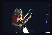 Def Leppard performs at the Rosemont Horizion outside Chicago, Illinois on October 19, 1987. <br /> CAP/MPI/GA<br /> &copy;GA/MPI/Capital Pictures