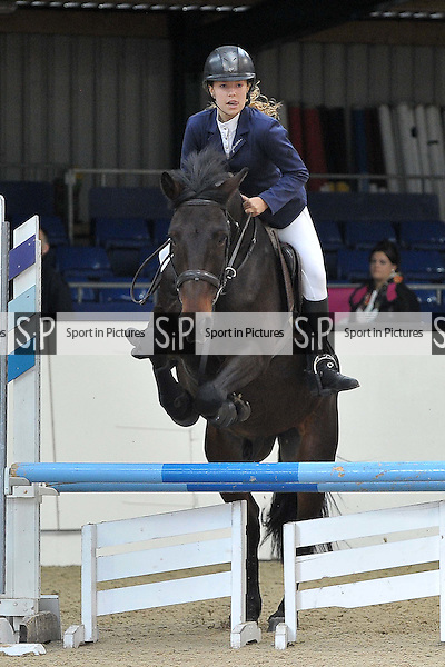 Class 7. Unaffiliated Showjumping. Brook Farm Training Centre. Essex. 16/10/2016. MANDATORY Credit Garry Bowden/Sportinpictures - NO UNAUTHORISED USE - 07837 394578