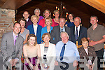 9634-9639.---------.Happy times ahead.-----------------.After 45 yrs teaching,the last 38 in Brachluin national school Annascaul,Ann Moloney(seated centre)from Camp celebrated her retirement dinner in the Meadowlands hotel,Oakpark,Tralee with family and friends(seated)L-R John,Elizebeth,Ann,and Dan Moloney with Maureen Sayers(2nd Row)L-R Margaret&Alice Murphy,Joan&Tim Cronin,Dr Sean Murphy and Joe Murphy(back)Padraig,Joan&Bri?d Murphy,Cro?ine ferguson and Karen Cronin.