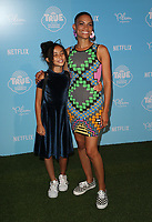 LOS ANGELES, CA - AUGUST 10: Goapele, at the Netflix Series Premiere Of True And The Rainbow Kingdom at the Pacific Theatres at The Grove in Los Angeles, California on August 10, 2017. Credit: Faye Sadou/MediaPunch