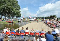 FIERLJEPPEN/POLSSTOKVERSPRINGEN: 03-09-2016, Linschoten, NK Jeugd, ©foto Martin de Jong