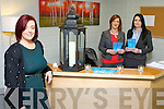 Catriona Locke, Joan Murphy and Eileen O'Regan at the new Pieta House offices in Castleisland
