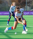 AMSTELVEEN - Ginella Zerbo (SCHC)  tijdens de competitie hoofdklasse hockeywedstrijd dames, Pinoke-SCHC (1-8) . COPYRIGHT KOEN SUYK