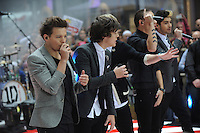 NEW YORK, NY - NOVEMBER 13: One Direction perform on NBC's Today Show in New York City. November 13, 2012. Credit mpi01/MediaPunch Inc. /NortePhoto/nortephoto@gmail.com