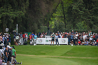 Tommy Fleetwood (ENG) looks over his tee shot on 17 during round 4 of the World Golf Championships, Mexico, Club De Golf Chapultepec, Mexico City, Mexico. 2/24/2019.<br /> Picture: Golffile | Ken Murray<br /> <br /> <br /> All photo usage must carry mandatory copyright credit (© Golffile | Ken Murray)