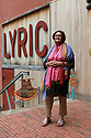Namita Gokhale (writer and festival co-director) at the Lyric Theater in Belfast, Wednesday, June 19th, 2019. (Photo by Paul McErlane for the Belfast Telegraph)