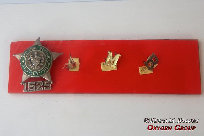 Items Belonging To Roberto Fernández Pérez, Invasion Museum, Giron Museum, Bay Of Pigs (1961)