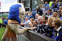 Bath Rugby mascot Maximus mingles with the crowd prior to the match. Gallagher Premiership match, between Bath Rugby and Gloucester Rugby on September 8, 2018 at the Recreation Ground in Bath, England. Photo by: Patrick Khachfe / Onside Images