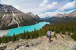 Peyto Lake is a glacier-fed lake located in Banff National Park in the Canadian Rockiesand is easily accessed from the Icefields Parkway.