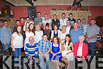 30TH: In An Tohár Bán, Kilmoyley on Saturday evening friends and family gathered at the bar on Saturday night to celebrate the 30th birthday of Veronica Deenihan,Kilmoyley. (Veronica is seated centre).