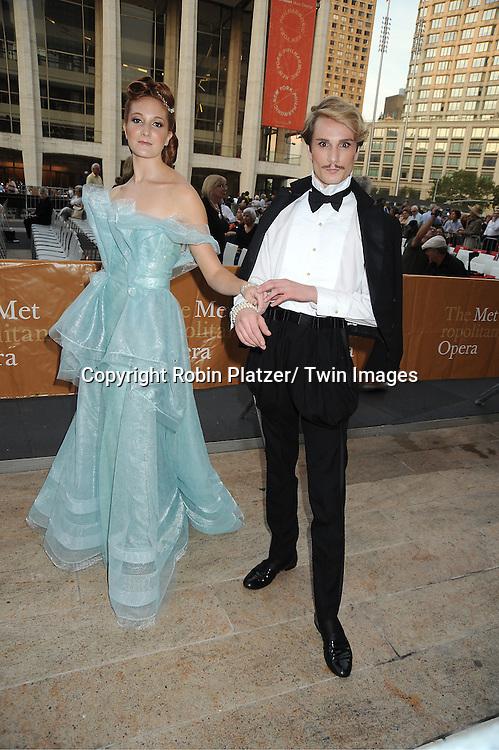 "Austin Scarkett and Bree attends The Metropolitan Opera Fall Gala Opening Night on September 26, 2011 at The Metropolitan Opera House in Lincoln Center, New York City. The production is ""Anna Bolena."""