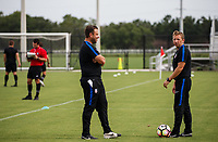 Lakewood Ranch, FL - Sunday July 23, 2017: Coaches during an international friendly match between the paralympic national teams of the United States (USA) and Canada (CAN) at Premier Sports Campus at Lakewood Ranch.