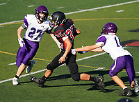 Amador Valley High School Freshman Football Vs Monte Vista Thursday  August 29, 2019. (Photo by Alan Greth/AGP Sports)