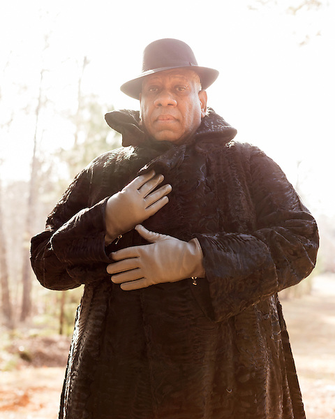 December 14, 2016. Durham, North Carolina.<br /> <br />  Andre Leon Talley, photographed on the property of Mt. Sinai Baptist Church, which he attended as a child. <br /> <br /> Jeremy M. Lange for The New York Times