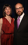 Erin Ortman and Alexander Gemignani attends the Opening Night After Party for 'Carousel' at the Cipriano 25 on April 12, 2018 in New York City.