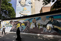 Graffiti in Tehran, Iran May 9,  2007.
