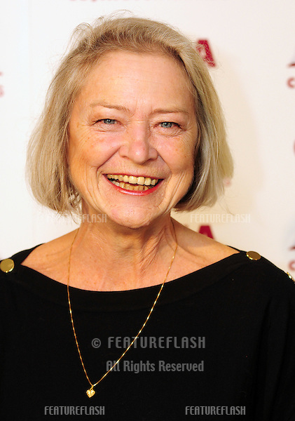 Kate Adie arriving for The 2012 Costa Book Awards at Quagliano's Restaurant in London on 24th Jan 2012.Pics by Simon Burchell / Featureflash