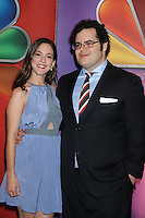 Martha MacIsaac and Josh Gad at NBC's Upfront Presentation at Radio City Music Hall on May 14, 2012 in New York City. © RW/MediaPunch Inc.