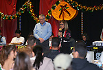 Lupe Ramirez speaks at the Posada Celebration at Western Nevada College in Carson City, Nev., on Saturday, Dec. 16, 2017. <br /> Photo by Cathleen Allison/Nevada Momentum