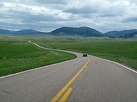Chasing Vinny through Montana.