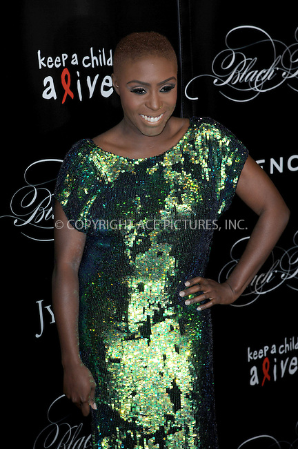 WWW.ACEPIXS.COM <br /> November 7, 2013 New York City<br /> <br /> Laura Mvula attending Keep A Child Alive's 10th Annual Black Ball at Hammerstein Ballroom on November 7, 2013 in New York City.<br /> <br /> Please byline: Kristin Callahan  <br /> <br /> ACEPIXS.COM<br /> Ace Pictures, Inc<br /> tel: (212) 243 8787 or (646) 769 0430<br /> e-mail: info@acepixs.com<br /> web: http://www.acepixs.com