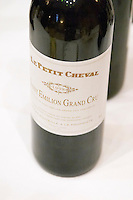 Le Petit Cheval1998 de Chateau Cheval Blanc, Saint Emilion, Bordeaux, France.