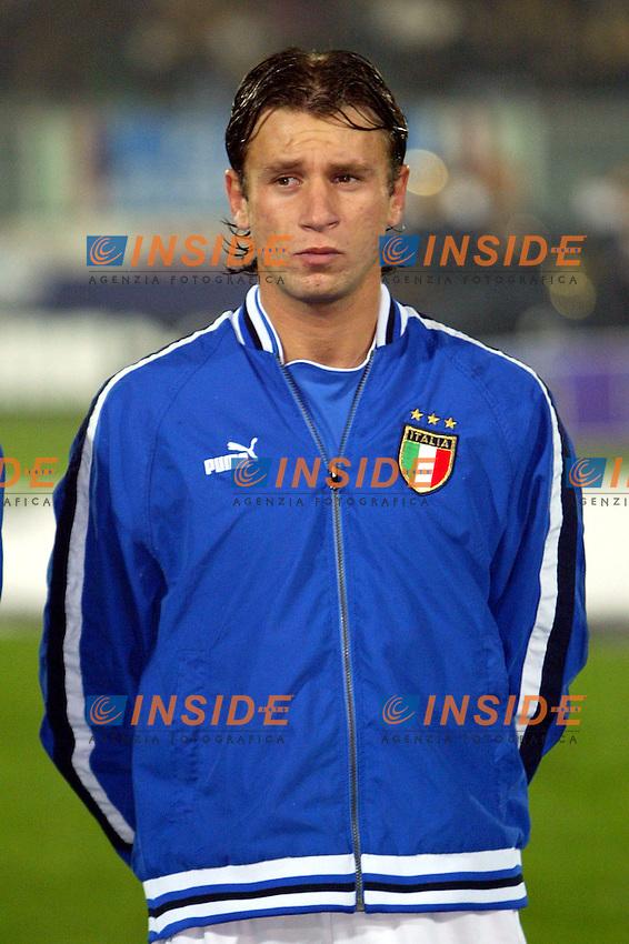 Ancona 17 Novembre 2003 <br /> Italia Romania 1-0 <br /> Antonio Cassano  <br /> Foto Andrea Staccioli Insidefoto