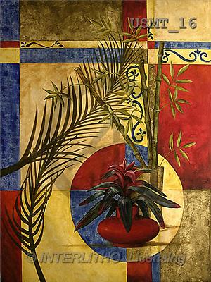 Malenda, FLOWERS, paintings, bromeliad I(USMT16,#F#) Blumen, flores, illustrations, pinturas ,everyday